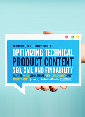 zoomin webinar Optimizing Technical Product Content.png